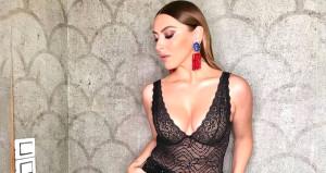 Ünlü şarkıcı Hadise dekolteli beyaz elbisesiyle göz kamaştırdı