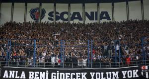 Beşiktaşın ünlü taraftar grubu Çarşıdan Fenerbahçeye teşekkür