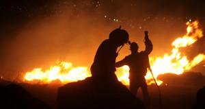 Tatil cenneti alev alev yandı! 30 hektar alan kül oldu