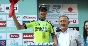 Cumhurbaşkanlığı Türkiye Bisiklet Turunu İspanyol Reverter kazandı