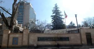 Ankara'da Büyükelçiliğe canlı bomba ihbarı! Cadde trafiğe kapatıldı