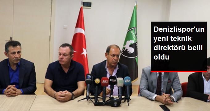 Denizlisporun yeni teknik direktörü belli oldu