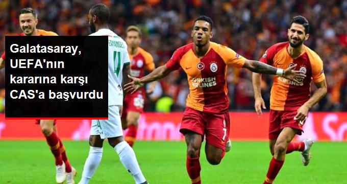 Galatasaray, UEFAnın kararına karşı CASa başvurdu