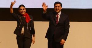 HDP, Selahattin Demirtaş ile Figen Yüksekdağ'ın izlerini siliyor