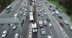 Metrobüs arızası nedeniyle aksayan seferler normale döndü