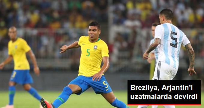 Brezilya, Arjantin i uzatmalarda devirdi