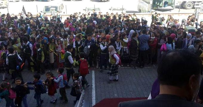 İlçede büyük korku! Öğrenciler sınıflara alınmadı, okullar tatil