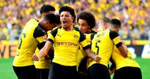 Borussia Dortmund şov yaptı
