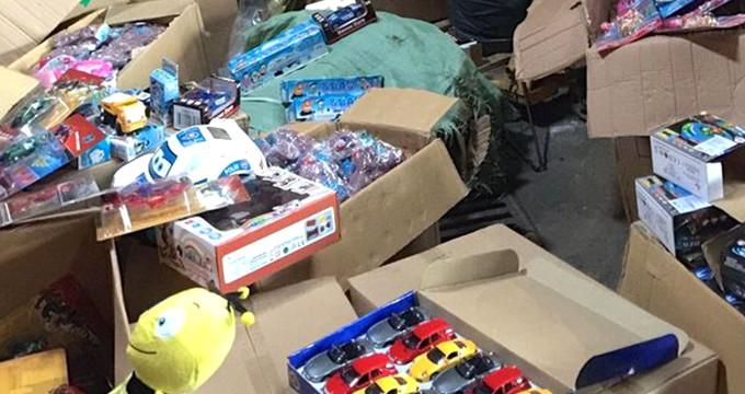 Çocuklar büyük tehlike atlattı! Oyuncak diye zehir satacaklardı