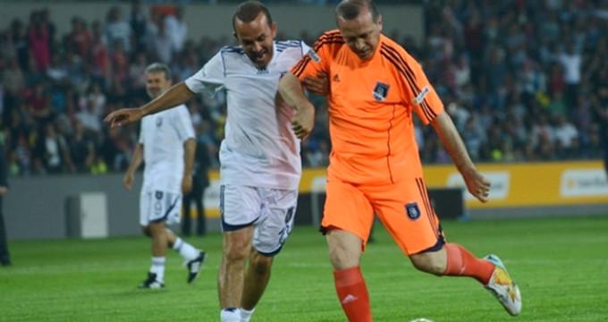 Cumhurbaşkanı Erdoğan'ın oynayacağı maçın kadrosu belli oldu