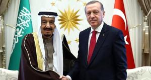 Erdoğan ile Kral Selman arasında kritik görüşme!