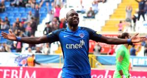 Kasımpaşanın golcüsü Diagne gol krallığında zirveye oturdu