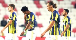 Fenerbahçe deplasmanda çile çekiyor