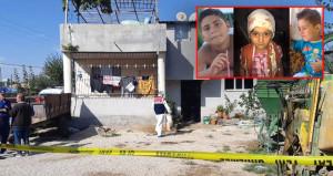 Kan donduran detaylar: 3 çocuğun başını kesip yan yana dizmiş!