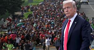 Binlerce insan ABD sınırına dayandı, Trump orduyla tehdit etti!