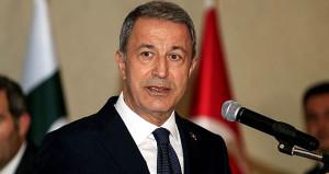 Milli Savunma Bakanı Akar'dan Yunanistan'a gözdağı