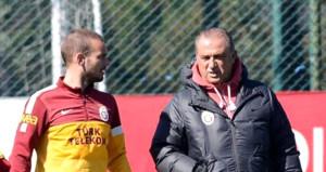 Wesley Sneijderden Fatih Terim itirafı: Onunla tekrar çalışmak isterim