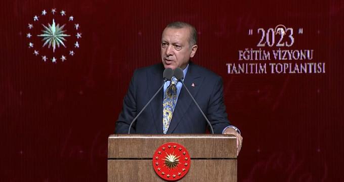 Cumhurbaşkanı Erdoğan'dan anaokulu açıklaması: Zorunlu hale gelecek!