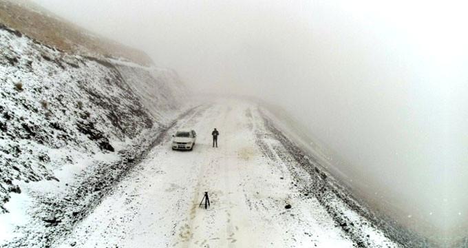 Görüntü bugün Türkiye'de çekildi! Kara kış fena bastırdı