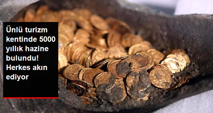 Ünlü turizm kentinde 5000 yıllık hazine bulundu! Herkes akın ediyor