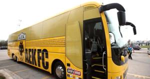 Yunan takımının otobüsünde dikkat çeken Türkiye detayı!