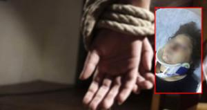Ellerini ve ayaklarını bağladı, dehşeti yaşattı!