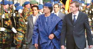 Kaddafi'nin Belçika bankalarında bulunan milyarlarca eurosu kayboldu!