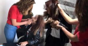 İş yeri basıp dehşet saçan genç kızlar, hakimin kararıyla yıkıldı