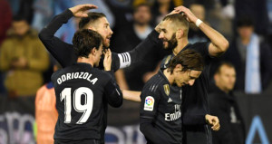 Real Madrid, deplasmanda Celta Vigoya fark attı