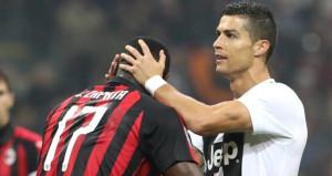 Ronaldo Milanı boş geçmedi, Juve deplasmanda kazandı