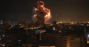 Saldırılara karşılık geldi! İsraile roket yağdırdılar