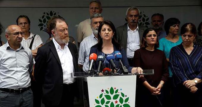 HDP Eş Genel Başkanı ve 3 vekile terör fezlekesi!