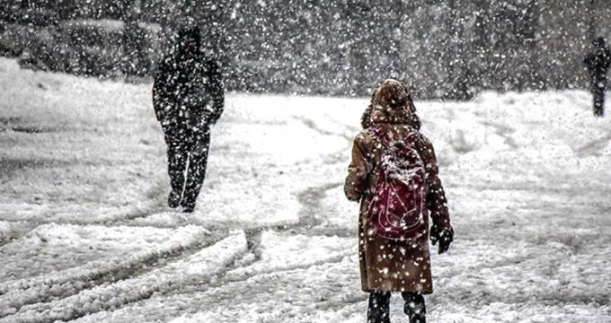 Kara kış etkisini göstermeye başladı! 2 ilde okullar tatil