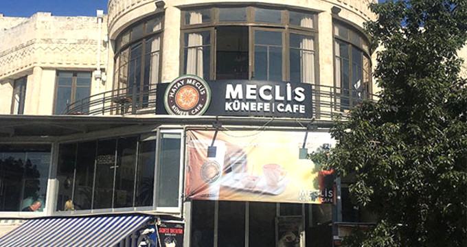 Türkiye tarihini değiştiren meclis binası, künefeci oldu