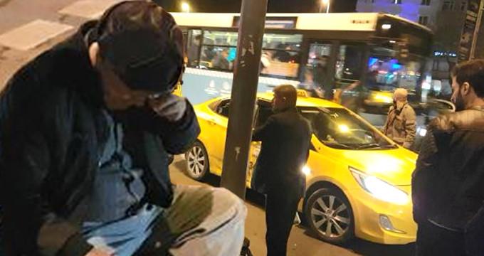 Taksici, ücrete itiraz eden kanser hastası turisti darp etti
