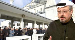 Cemal Kaşıkçı için İstanbul'da cenaze namazı kılındı