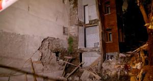 İki bina boşaltıldı! Gergin bekleyiş sürüyor