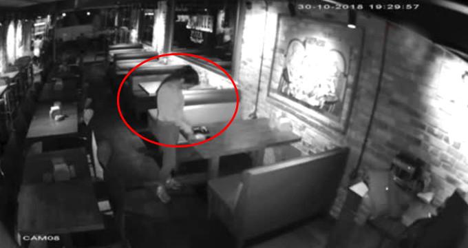 Pizzacıda çalışan genç kız, son işinde suçüstü yakalandı