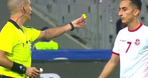Hakemden, Tunuslu oyuncuya görülmemiş tepki!