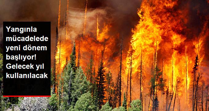Önümüzdeki Yıl Yangınla Mücadelede Yerli İHA'lar Kullanılacak