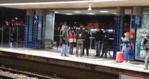 Metroda korkunç olay! Genç kadın ölümden döndü, istasyon kapatıldı
