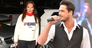 Otoparkta ünlü şarkıcının arabasını gören Demet, çılgına döndü