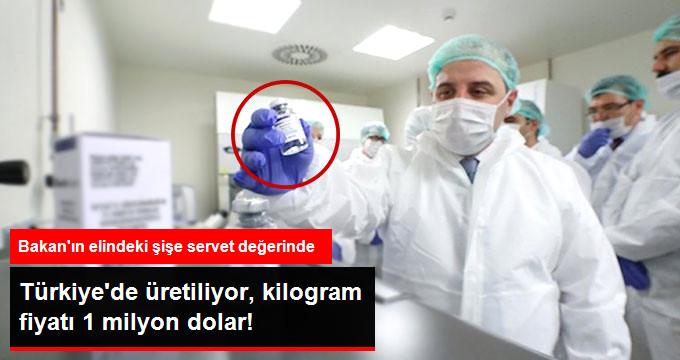 Türkiye'de Üretiliyor, Kilogramı 1 Milyon Dolar! Bakan Varank, Çalışmaları Yerinde İnceledi