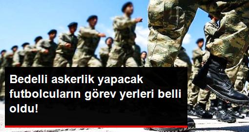 Bedelli Askerlik Yapacak Futbolcular, Vatani Görevlerini Burdur'da Yerine Getirecek