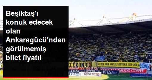 Ankaragücü'nden Beşiktaş'a 1 Liralık Mesaj