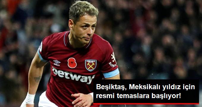 Beşiktaş, Meksikalı yıldız için resmi temaslara başlıyor!
