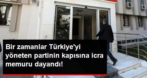 Saadet Partisi Genel Merkezi'nin Kapısına İcra Memurları Dayandı!