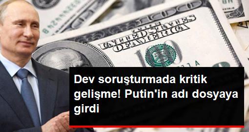 Rusya Devlet Başkanı Putin'in Adı 230 Milyar Dolarlık Kara Para Aklama Soruşturmasına Girdi