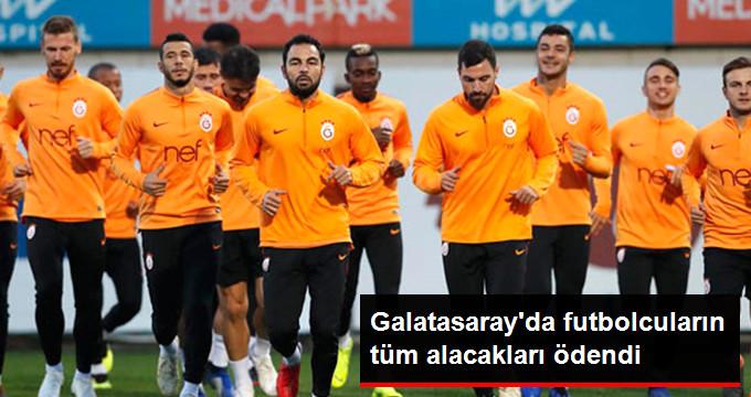 Galatasaray da futbolcuların tüm alacakları ödendi