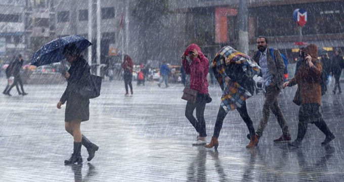 Meteorolojiden 3 bölge için önemli uyarı